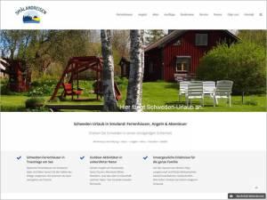 Homepage smalandreisen.de - neuer Internet-Auftritt