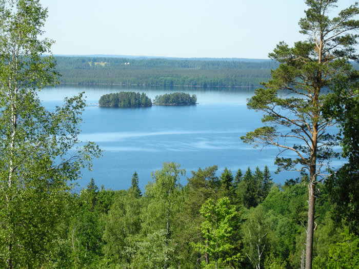Ruskensee in Schweden (Smaland) - paradies für Angler und Zander