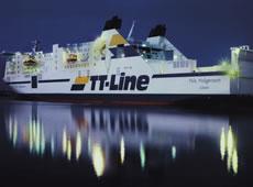 """Schiff """"Nils Holgerson"""" der TT-Line"""