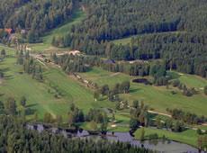 Schweden - Smaland: Golfplatz Hook Vogelperspektive