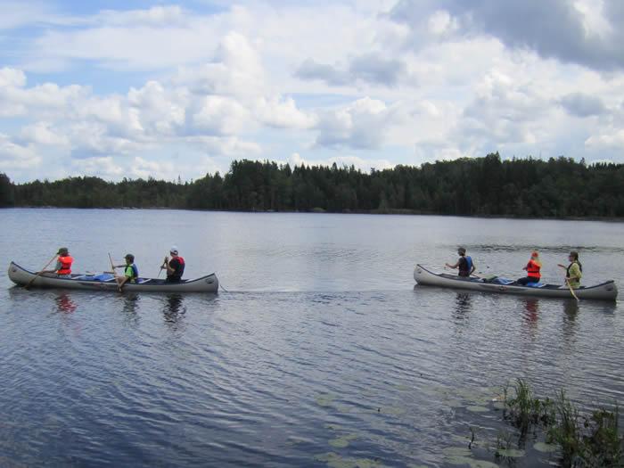 Paddeln mit dem Kanu in Schweden - ein echtes Familienerlebnis