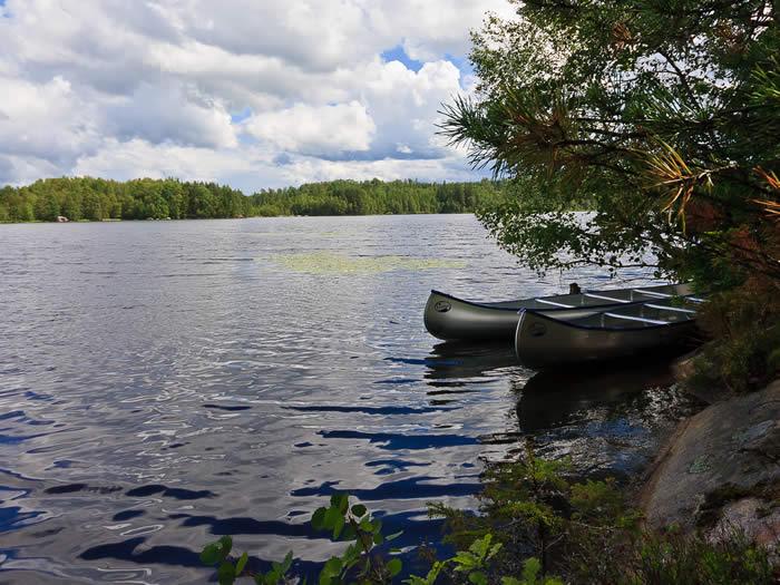 Kanu bei smalandreisen.de in Schweden mieten