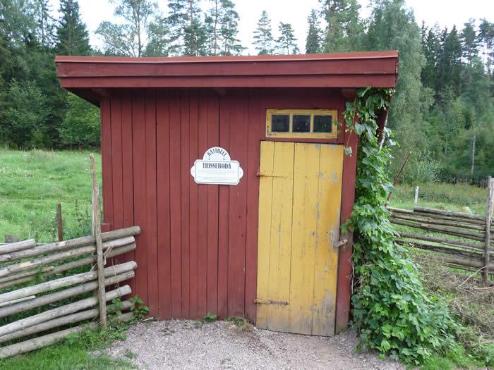 Michel aus Lönneberga - Katthult-Hof: Plumpsklo