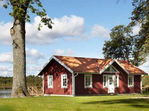 """Schweden - Smaland: Ferienhaus - Haus """"Bullerbü"""" - Traumhafte Seelage"""