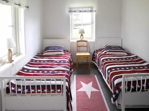 """Schweden - Smaland: Ferienhaus - Haus """"Bullerbü"""" - zweites Schlafzimmer"""