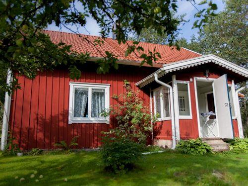 "Schweden - Smaland: Ferienhaus Am See - Haus ""Katthult"" - Hauseingang"