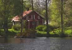 Schweden Ferienhaus Am Ruskensee Mit Seeblick - Haus Katthult