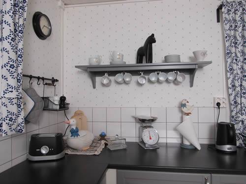 """Schweden - Smaland: Ferienhaus am See - Haus """"Katthult"""" - Küche Accessoires"""