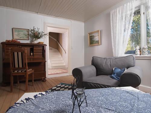 """Schweden - Smaland: Ferienhaus Am See - Haus """"Katthult"""" - Wohnzimmer"""