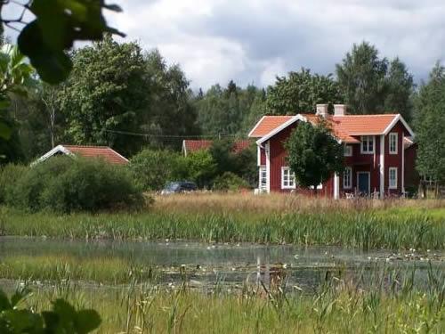 """Schweden Ferienhaus mit Sauna am See in Smaland - Haus """"Torp Staveryd"""" - Seegrundstück"""