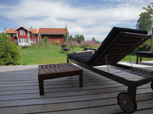 """Schweden Ferienhaus See in Smaland - Haus """"Torp Staveryd"""" - Blick auf das Haupthaus"""