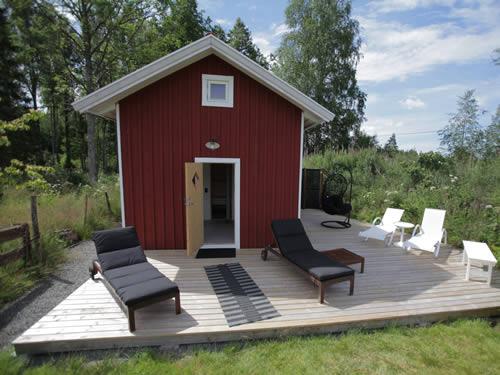 """Schweden Ferienhaus See In Smaland - Haus """"Torp Staveryd"""" - Sauna-Haus"""