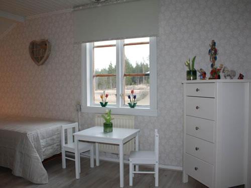 """Schweden - Smaland: Ferienhaus am See - Haus """"Torp Staveryd"""" - Schlafzimmerfenster"""