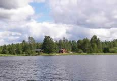 Schweden - Smaland: Ferienhaus Am See - Haus Torp Staveryd