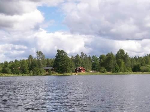 """Schweden - Smaland: Ferienhaus am See- Haus """"Torp Staveryd"""" - Seeblick"""