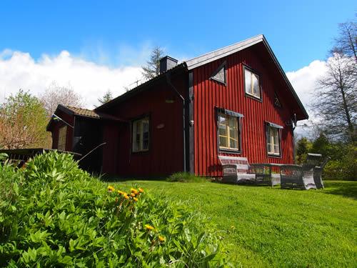 Schweden Ferienhaus Troll: Sonnniges Naturgrundstück am See Verigstadsan