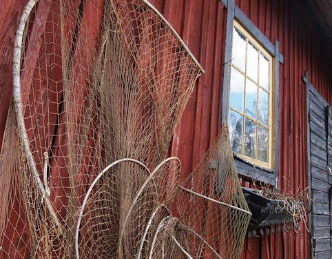 """Schweden - Smaland: Ferienhaus am See - Haus """"Troll"""" - Fischernetz an der alten Mühle"""