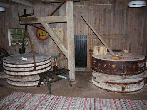"""Schweden - Smaland: Ferienhaus am See - Haus """"Troll"""" - alte Mühle in Gisabovon Innen"""