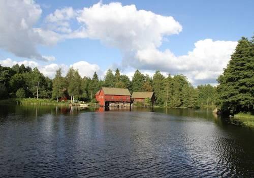 Chweden - Smaland: Ferienhaus Am See - Ehemaliges Mühlhaus