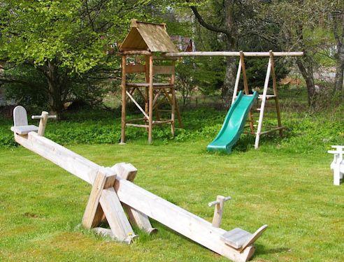 """Schweden - Smaland: Ferienhaus am See - Haus """"Troll"""" - Kinderpielplatz Kinder"""