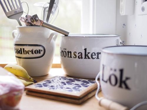 """Schweden - Smaland: Ferienhaus am See - Haus """"Troll"""" - Küchenutensilien"""