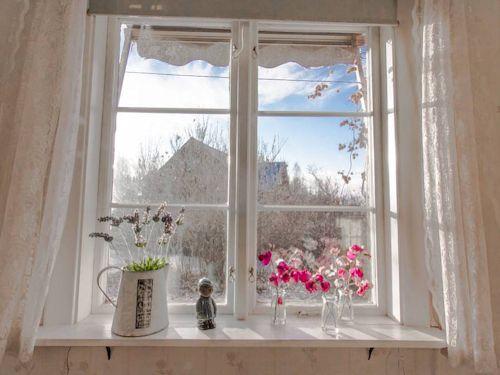 """Schweden - Smaland: Ferienhaus am See - Haus """"Troll"""" - Blick aus dem Wohnzimmer"""