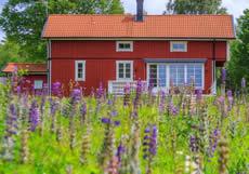 Smaland Ferienhaus Am See: Haus Hylte