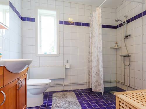 """Schweden - Smaland: Ferienhaus - Haus """"Hylte"""" - Bad, Dusche Und WC"""