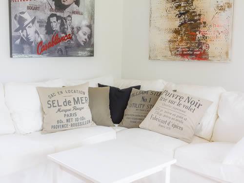 """Schweden - Smaland: Ferienhaus - Haus """"Hylte"""" - Couch-Ecke"""