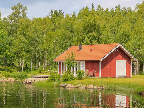 """Schweden - Smaland: Ferienhaus - Haus """"Hylte"""" - Bootshaus"""