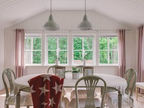 """Schweden - Smaland: Ferienhaus Am See - Haus """"Karlsson"""" - Esszimmer"""
