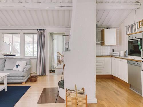 """Schweden - Smaland: Ferienhaus Am See - Haus """"Karlsson"""" - Küche"""
