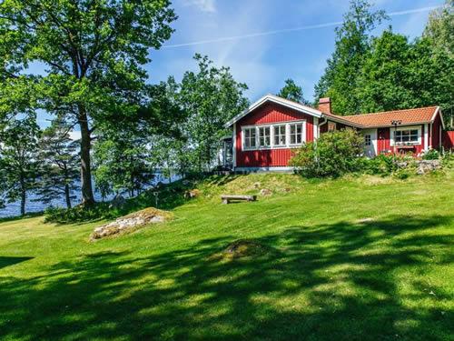 Schweden Ferienhaus Am Ruskensee - Haus Karlsson Mit Seeblick