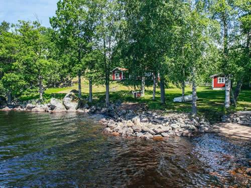 """Schweden - Smaland: Ferienhaus am See - Haus """"Karlsson"""" - herrlicher Seeblick"""