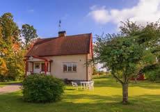 Schweden Ferienhaus Am See Vrigstadsan: Stein-Haus Karlström
