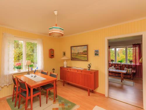 """Schweden - Smaland: Ferienhaus Am See - Haus """"Karlström"""" - Esszimmer"""