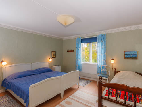 """Schweden - Smaland: Ferienhaus am See - Haus """"Karlström"""" - Schlafzimmer"""