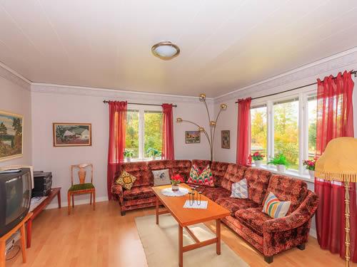 """Schweden - Smaland: Ferienhaus am See - Haus """"Karlström"""" - Sitzgruppe"""
