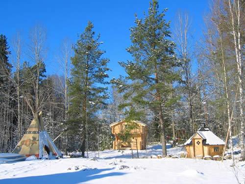 "Schweden - Smaland: Ferienhaus - Haus ""Knäppen"" - Tourist Camp"