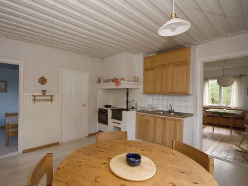 """Schweden - Smaland: Ferienhaus - Haus """"Langö"""" - Esszimmer / Küche"""