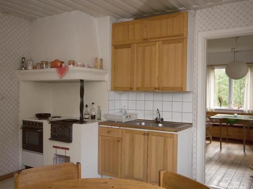 """Schweden - Smaland: Ferienhaus - Haus """"Langö"""" - Küche"""