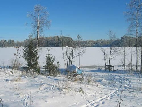 "Schweden - Smaland: Ferienhaus - Haus ""Langö"" - Winterlandschaft"