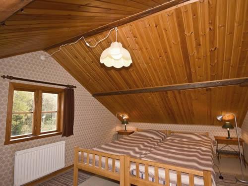"""Schweden - Smaland: Ferienhaus - Haus """"Lönneberga"""" - Schlafzimmer"""