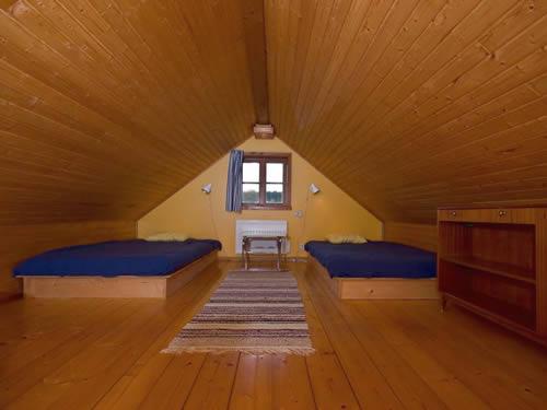 """Schweden - Smaland: Ferienhaus - Haus """"Lönneberga"""" - Schlafboden / Hems"""