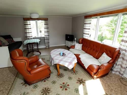 """Schweden - Smaland: Ferienhaus - Haus """"Madita"""" - Wohnzimmer"""