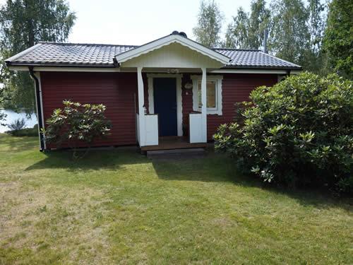 """Schweden - Smaland: Ferienhaus am See Langen - Haus """"Michel"""" - Der Eingang"""
