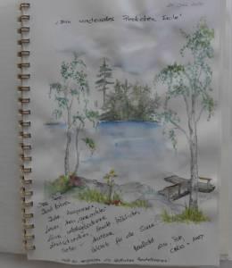 """Schweden - Smaland: Ferienhaus am See Langen - Haus """"Michel"""" - Gästebucheintrag"""