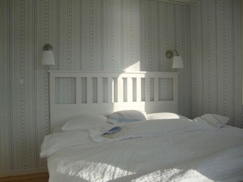 """Schweden - Smaland: Ferienhaus am See Langen - Haus """"Michel"""" - Schlafzimmer"""