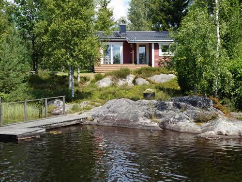 """Schweden - Smaland: Ferienhaus am See Langen - Haus """"Michel"""" - Traumhafte Lage am Wasser"""