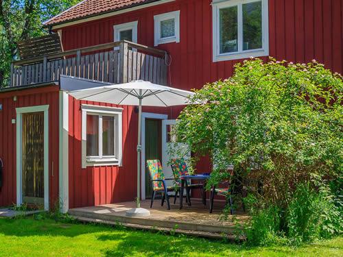 """Schweden - Smaland: Ferienhaus - Haus """"Ohs"""" - Terrasse"""